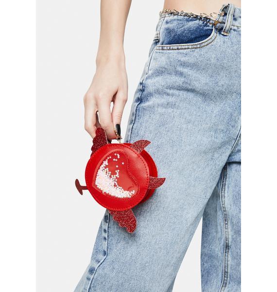 Love's Wings Circle Crossbody Bag