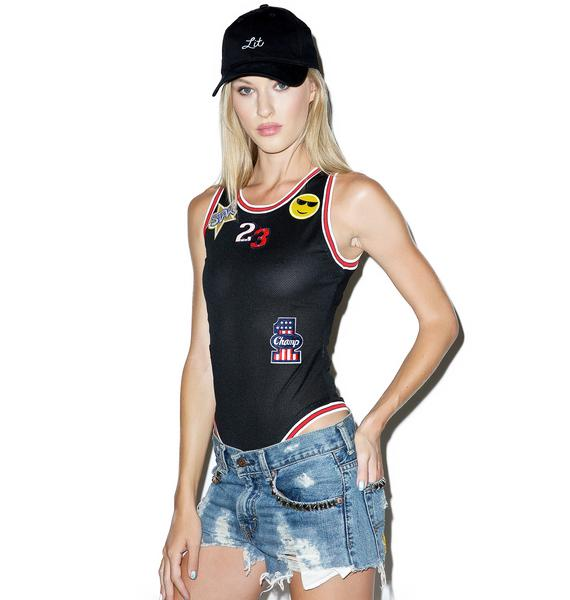 Air G.O.A.T. Patches Bodysuit