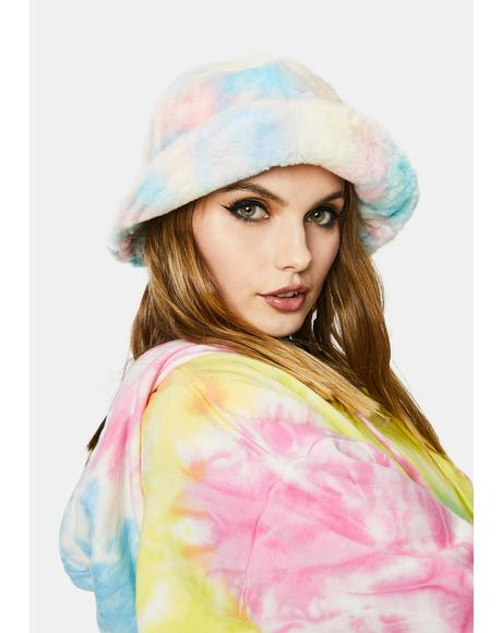 Pixel Perfection Tie Dye Bucket Hat