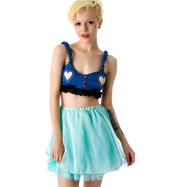 Under The Table Starry Dreams Layered Skirt