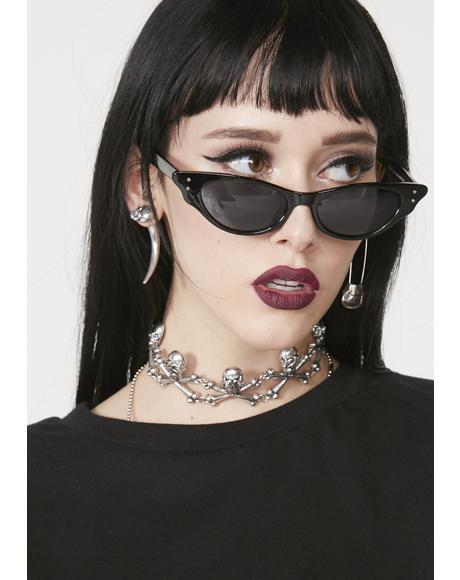 Noir Infinite Icon Cat Eye Sunglasses