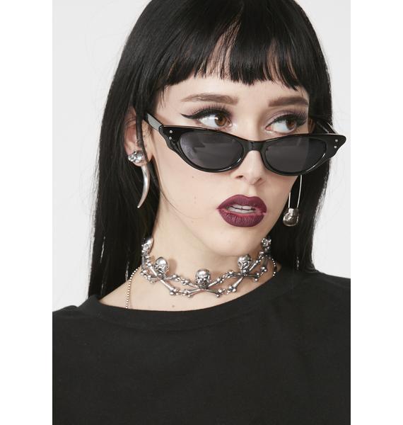 8e5711fab15 Noir Infinite Icon Cat Eye Sunglasses ...
