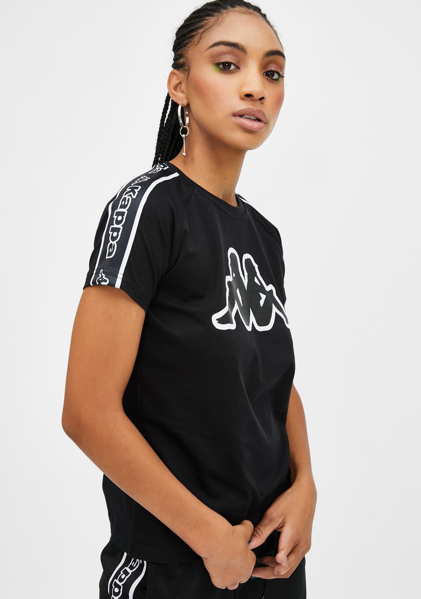 Kappa Logo Tape Amie T-Shirt