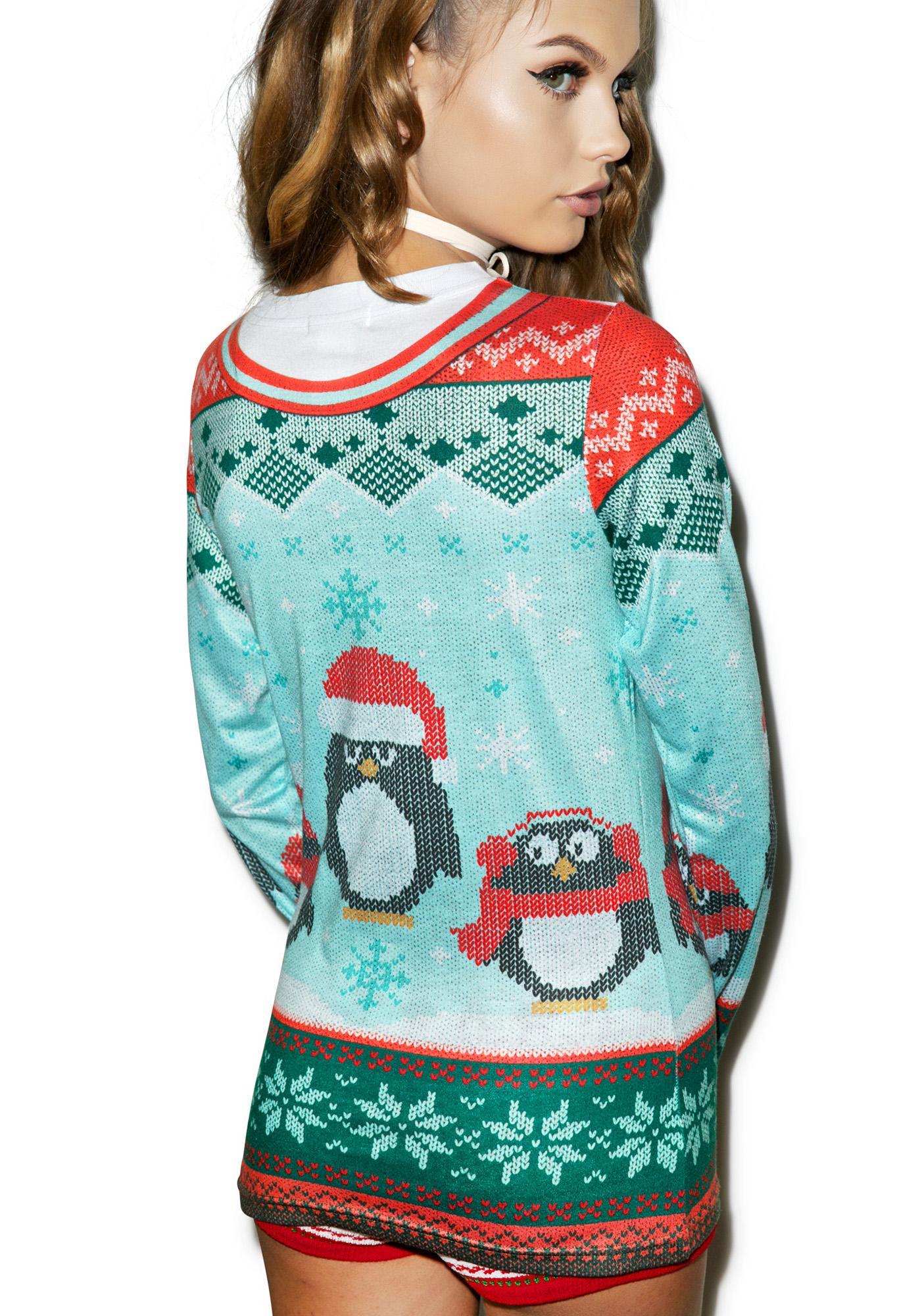 Penguin Posse Sweater Tee