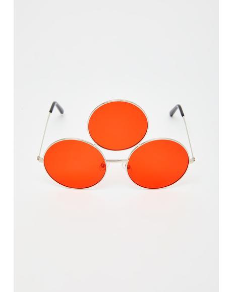 Red Memorium Sunglasses