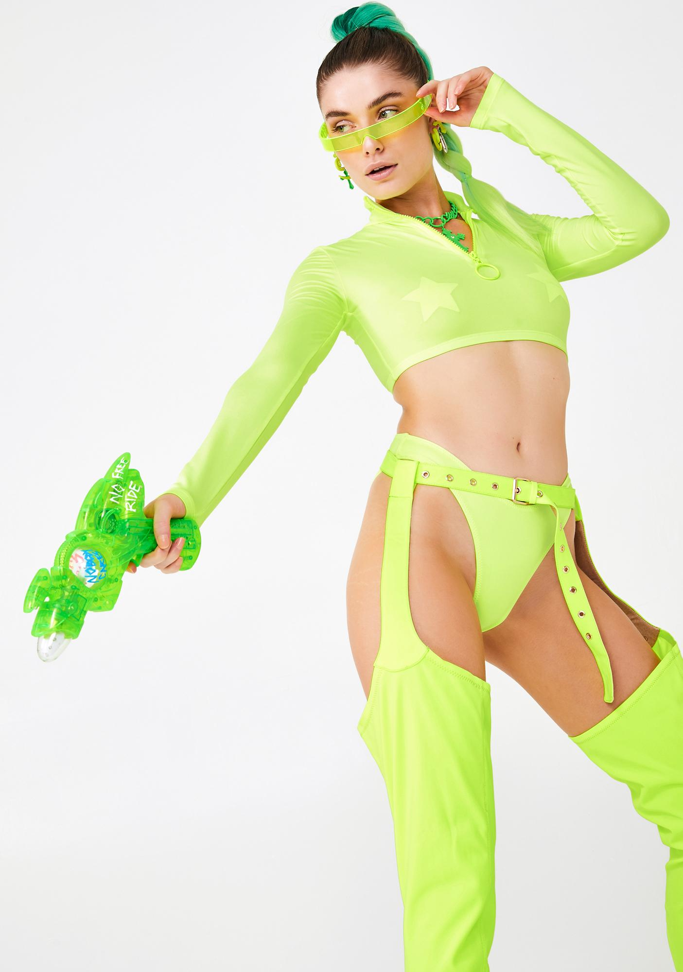 Kiki Riki Sour Cyber Desire Two Piece Set