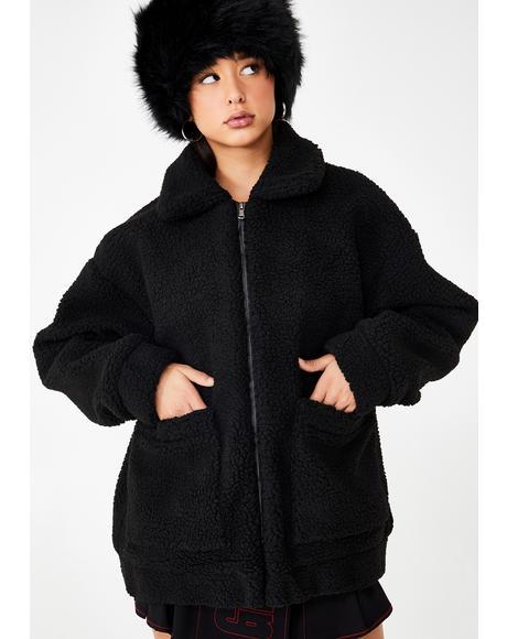 Dark Pixie Coat
