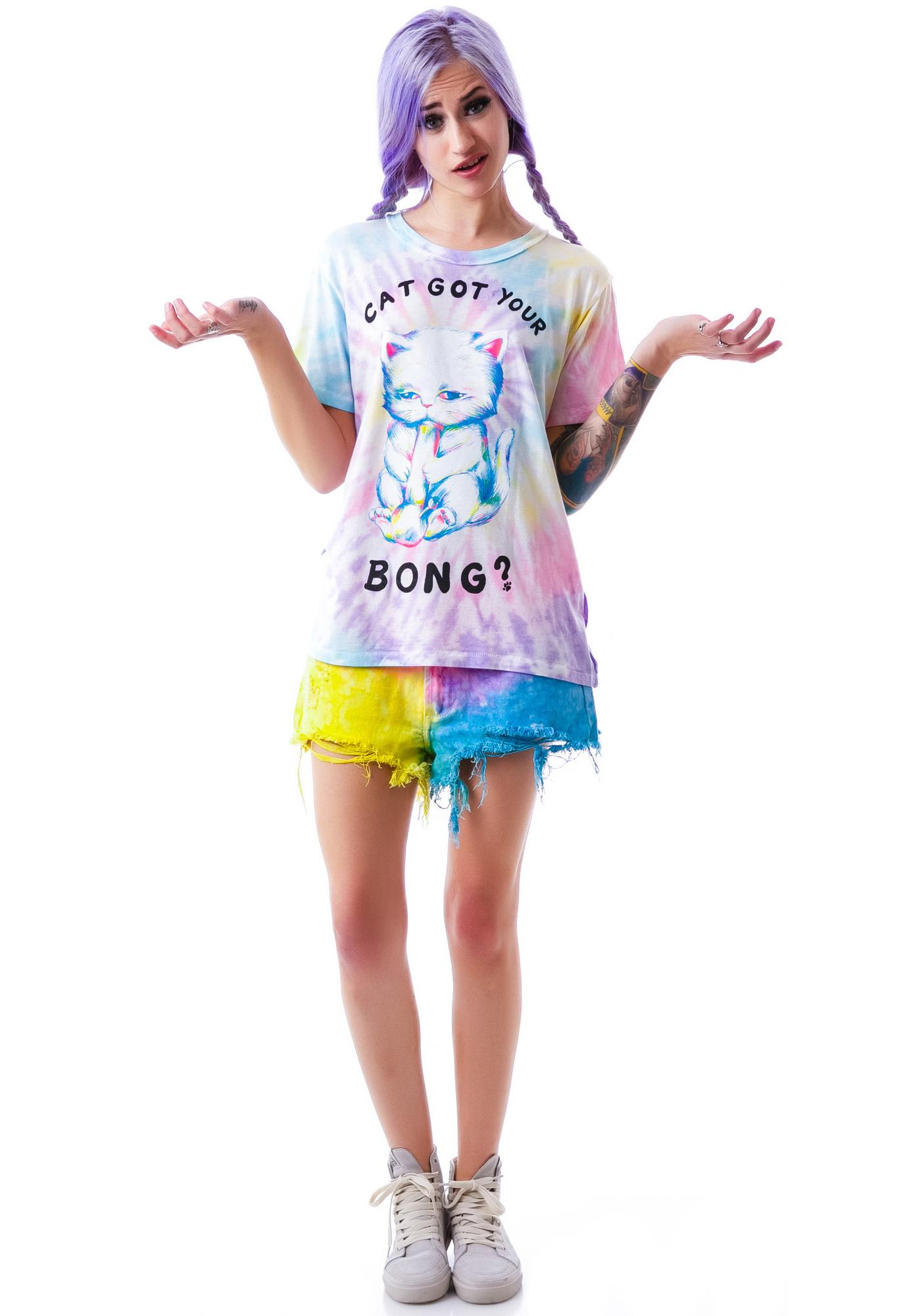 UNIF Cat Bong Short Sleeves Tee
