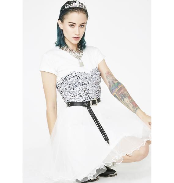Kiki Riki Ice Queen Sequin Dress