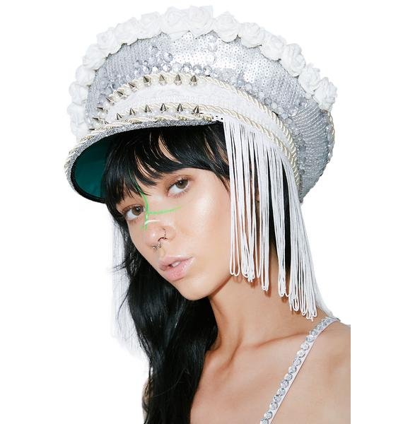 The Sinner + Saint War Of The Roses Military Hat