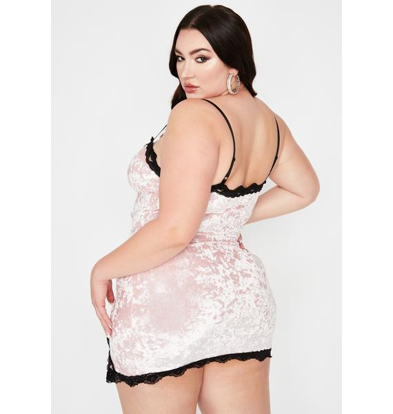 Sugar BB Read Into Me Slip Dress