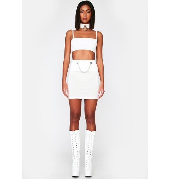 Waiting Game Mini Skirt