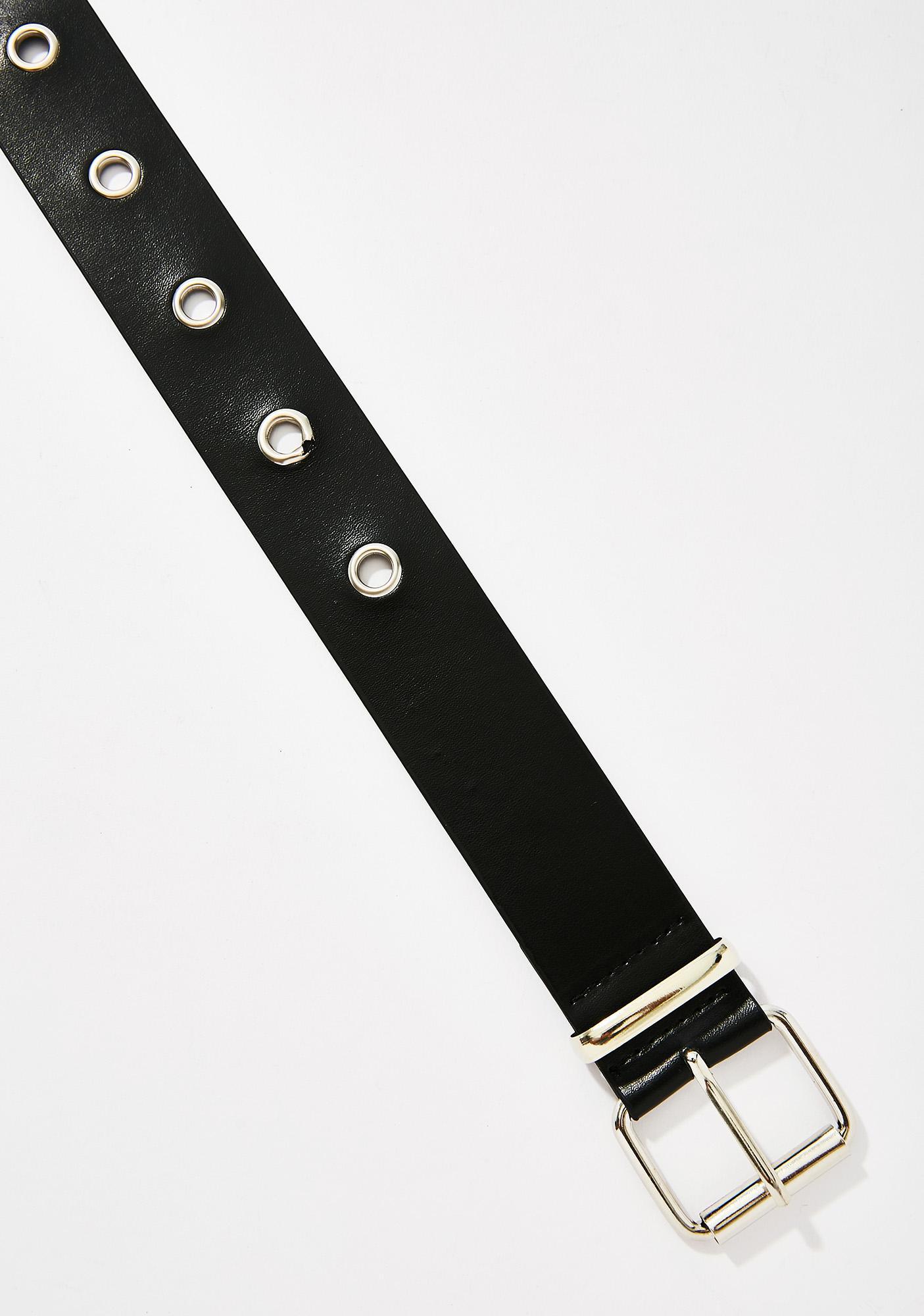 Roll With Me Grommet Belt
