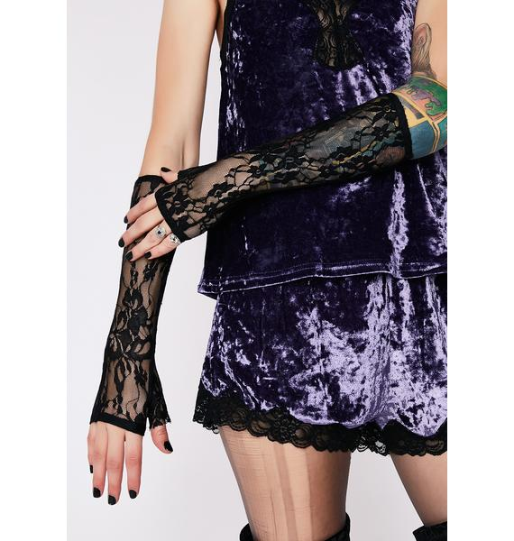 Kiki Riki Get A Grip Lace Gloves