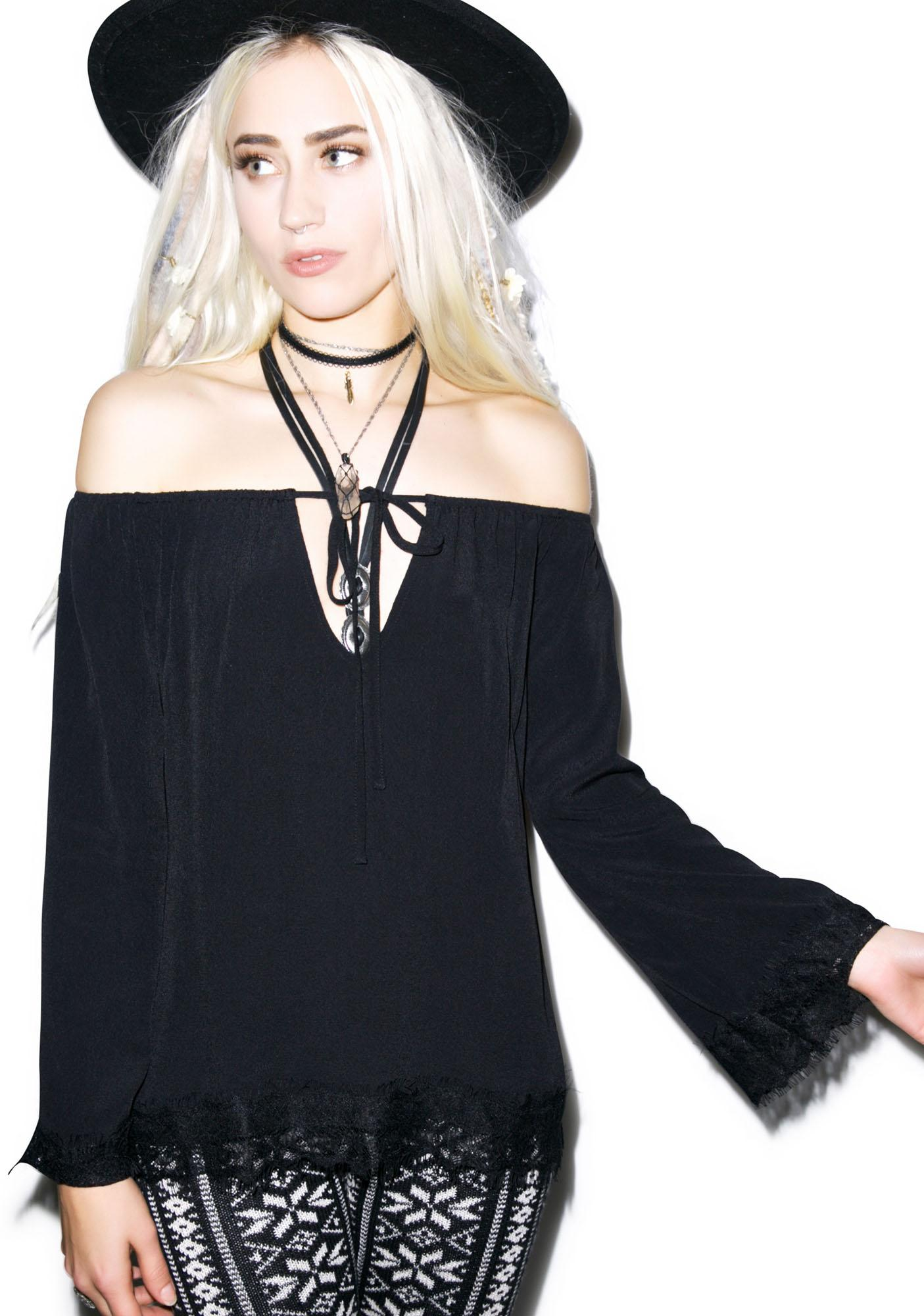 For Love & Lemons Wildchild Blouse