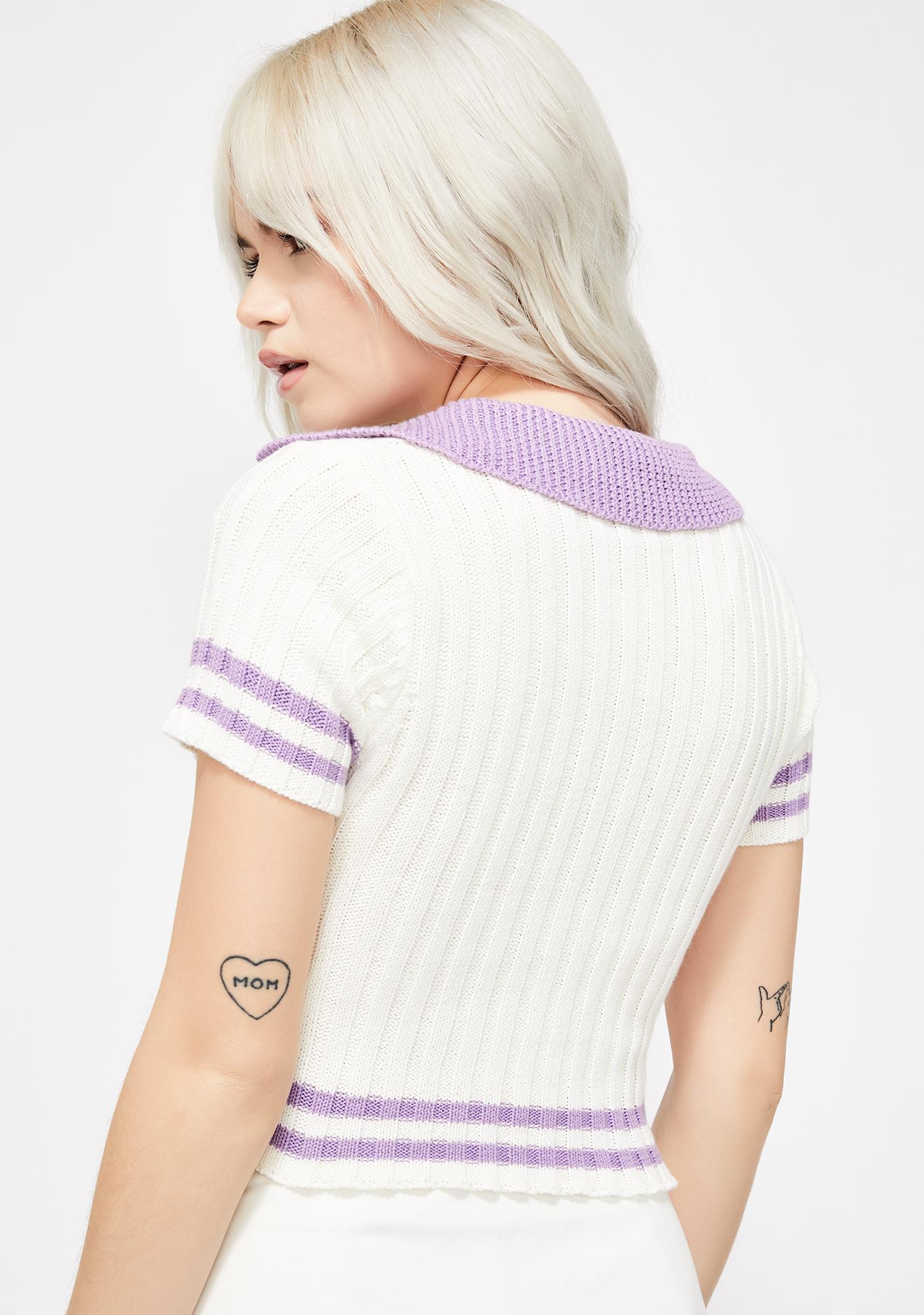 Cupcake Kisses Polo Sweater