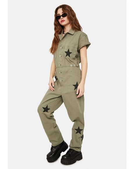 Royal Honor Grover Denim Jumpsuit