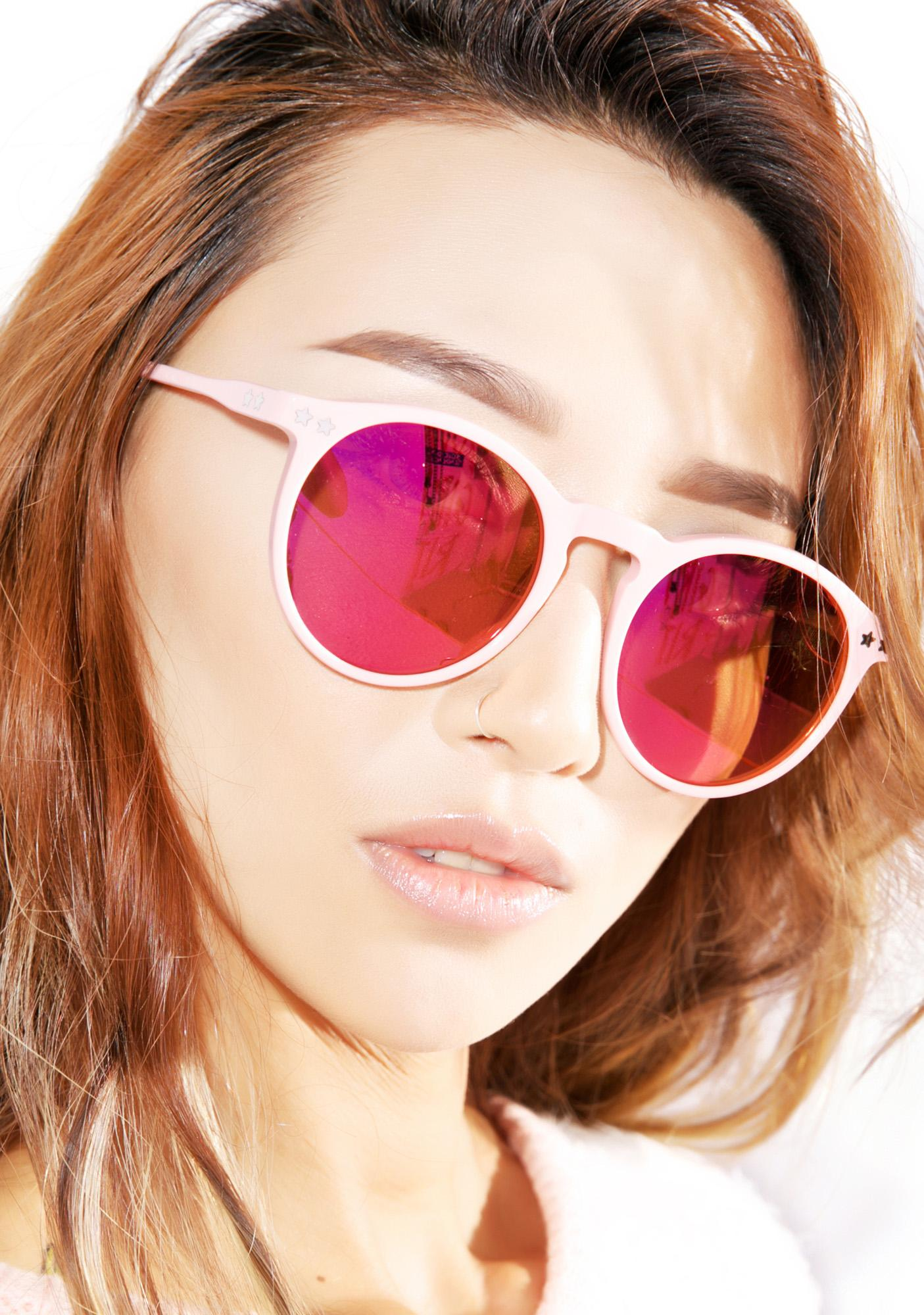 Wildfox Couture Steff Deluxe Frame Sunglasses