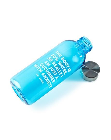 Cucumber 20 Oz Water Bottle