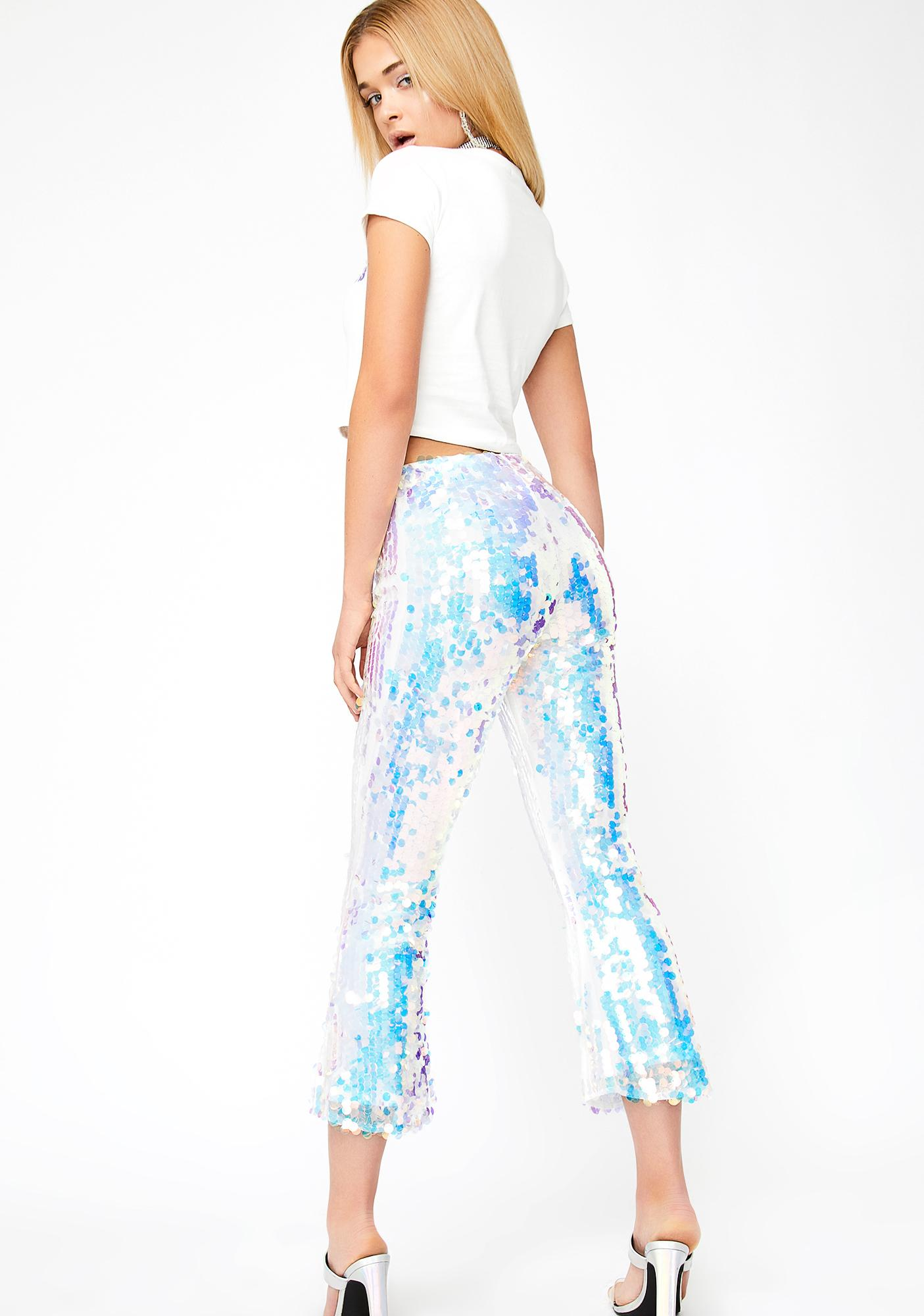 HOROSCOPEZ Goddess Realm Sequin Pants