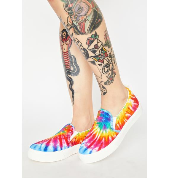Skechers Poppy Hippie Hype Slip On Sneakers