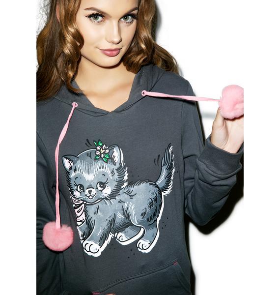 Iron Fist Pussy Cat Hoodie