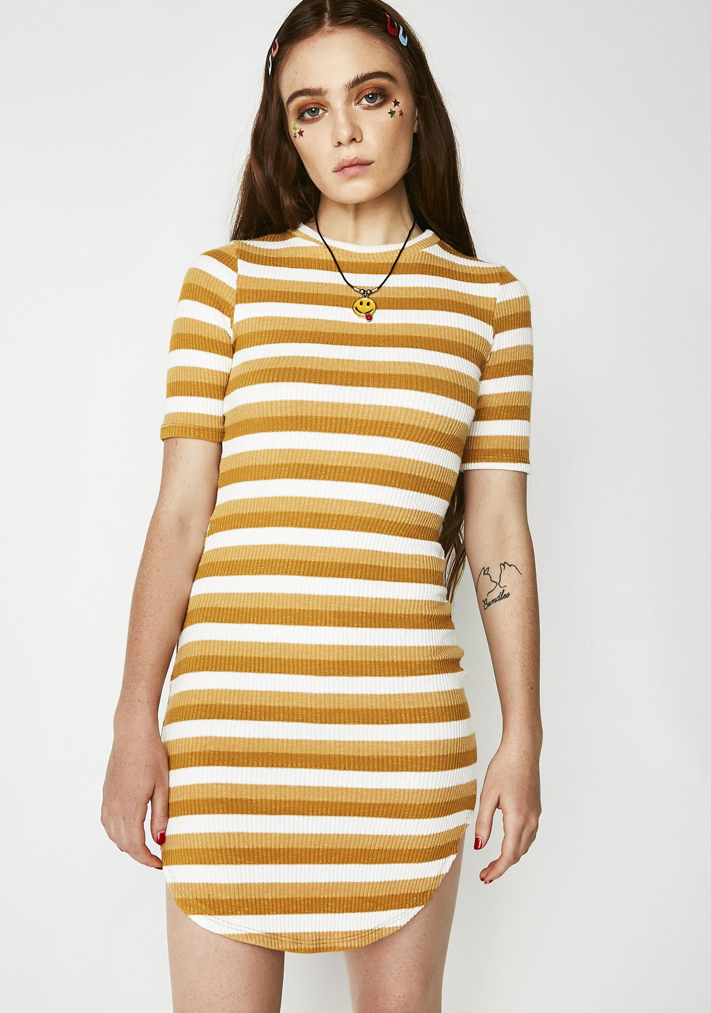 d22921d337ab1 Creamsicle Mod About You Striped Dress