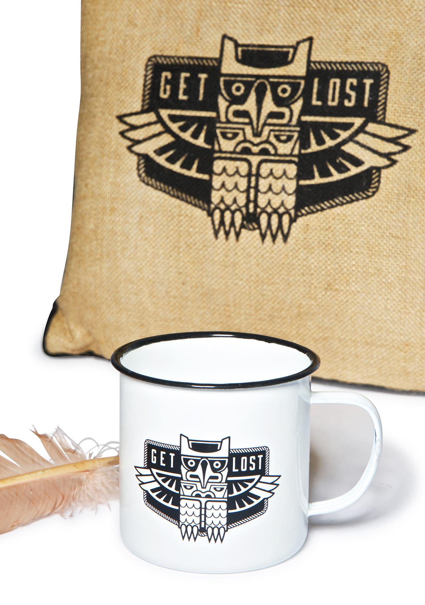 Sourpuss Clothing Get Lost Coffee Cup