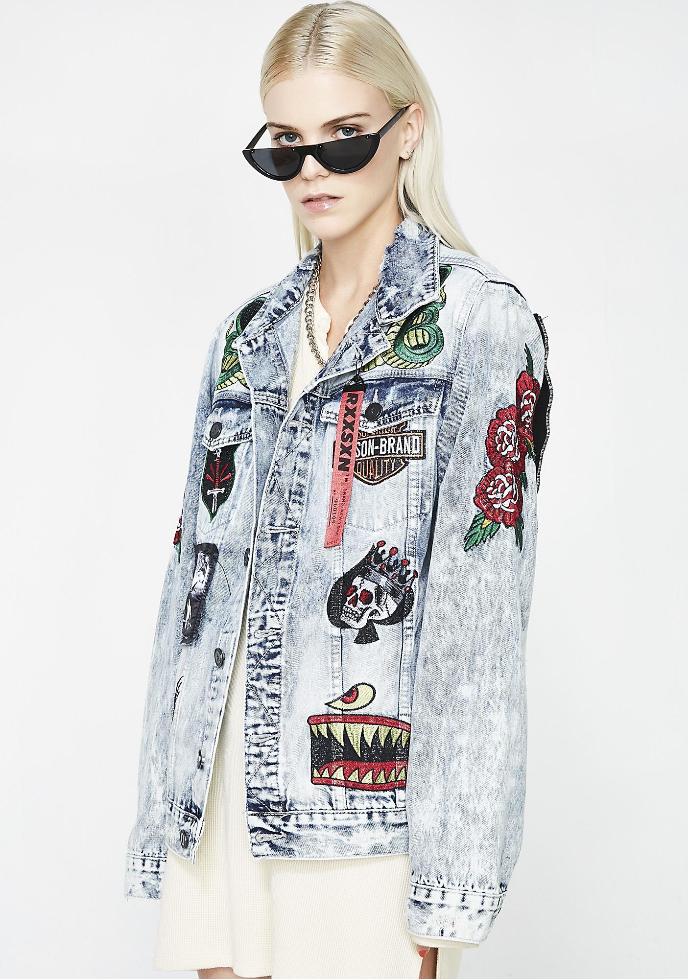 Reason Rock Tour Denim Jacket