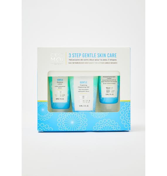 C'EST MOI BEAUTY 3 Step Gentle Skin Care
