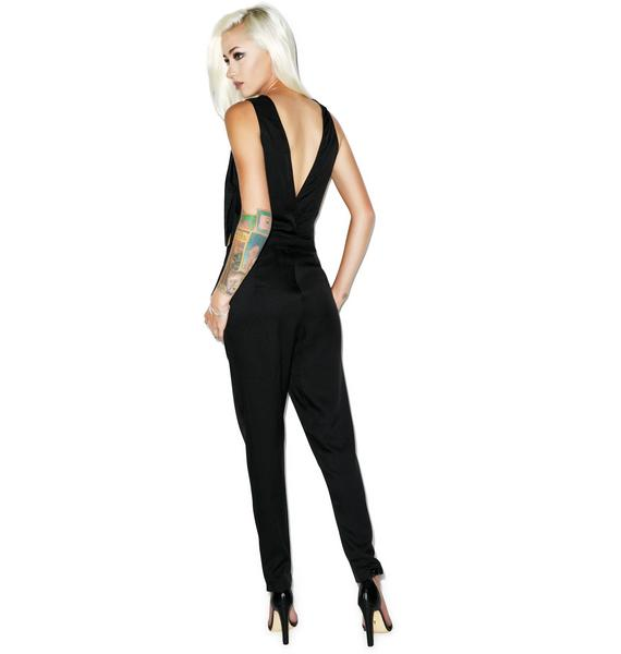 Deep Cut Jumpsuit