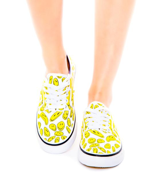 Bad Acid Smiley Sneakers