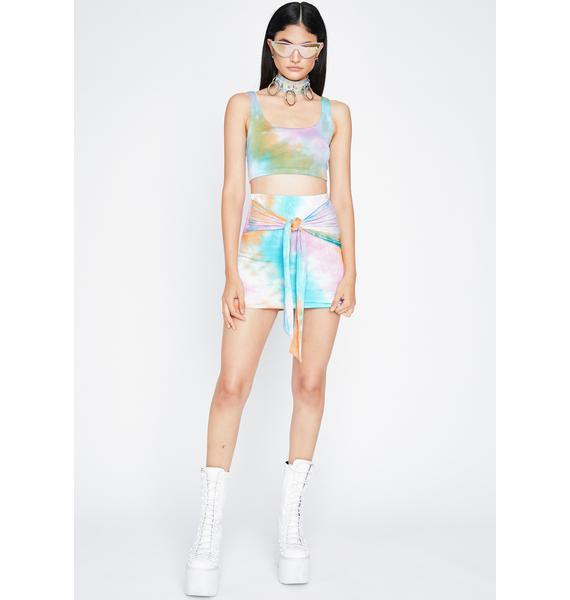 Temptin' Tempo Skirt Set
