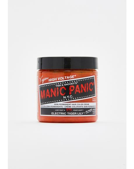 Electric Tiger Lily Classic High Voltage UV Hair Dye