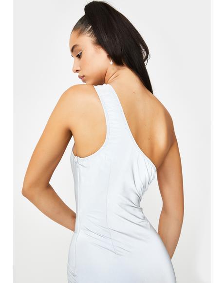 Future Finesse Reflective Dress