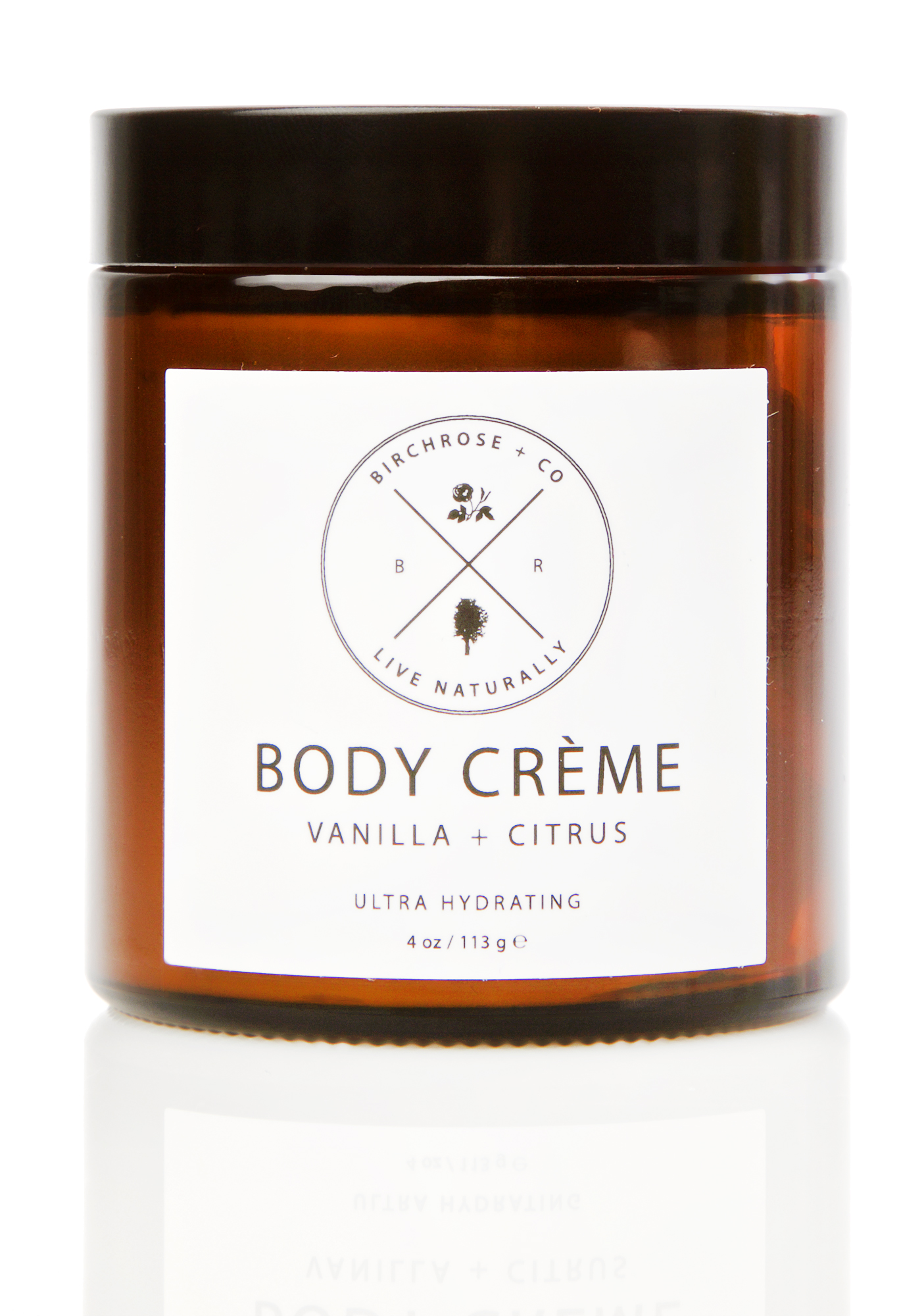 Birchrose + Co Vanilla + Citrus Body Creme