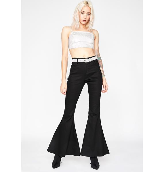 Blingy Nights Flare Pants
