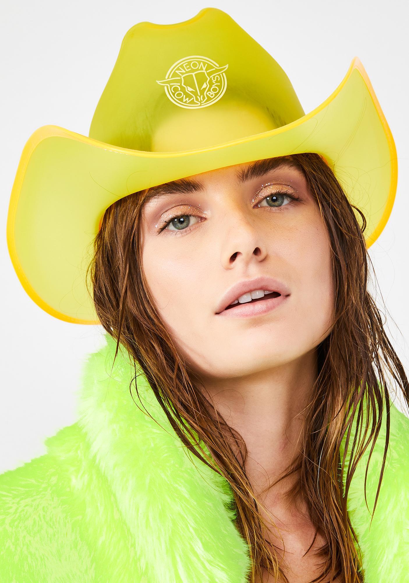 f6b15df7d Spark Yellow Light Up Cowboy Hat