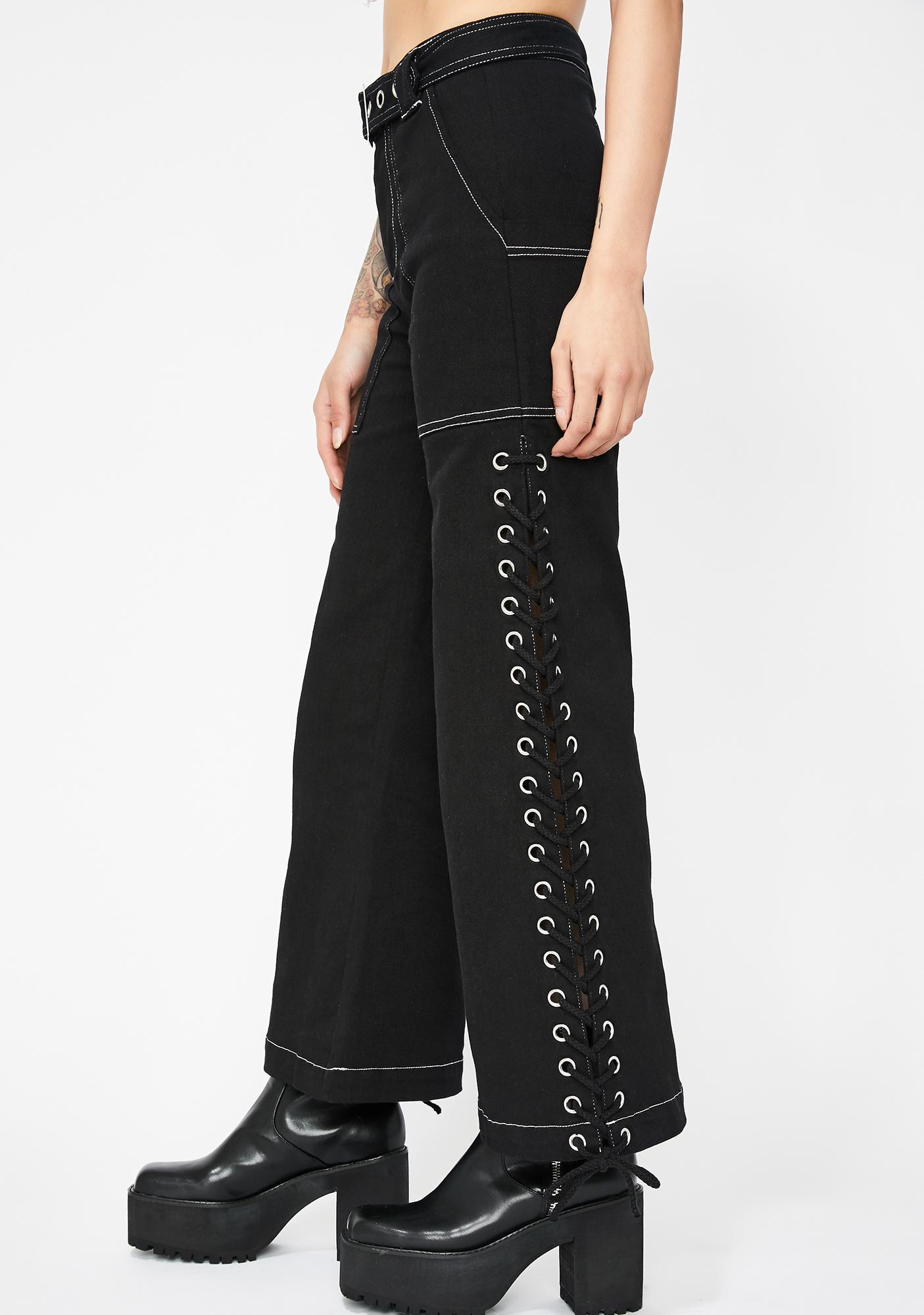 Street Drifter Lace-Up Pants