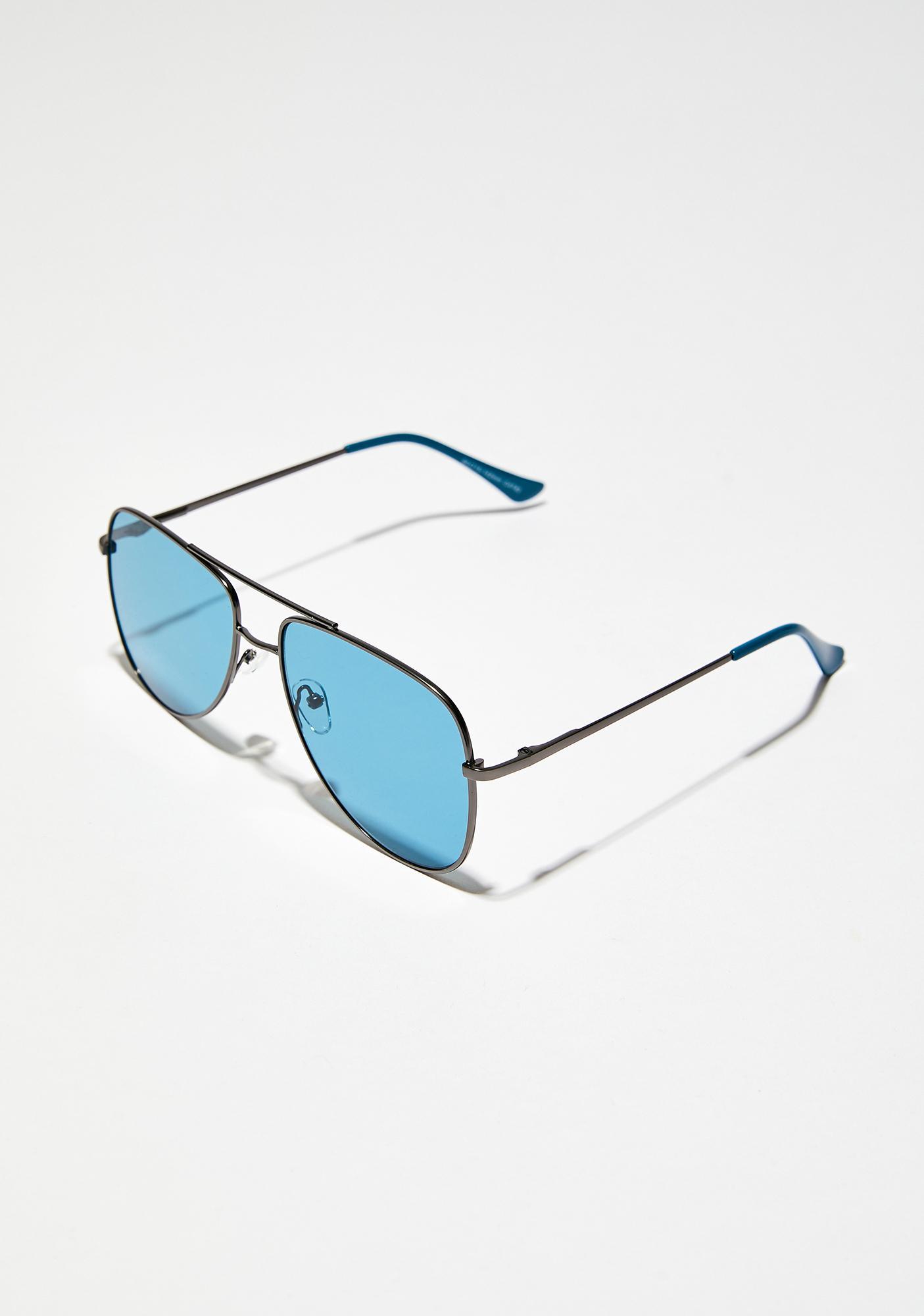 Deep Waters Aviator Sunglasses