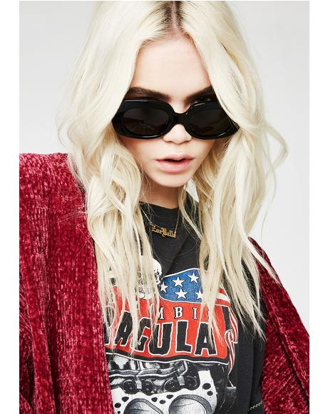 Onyx The Velvet Mirror Sunglasses