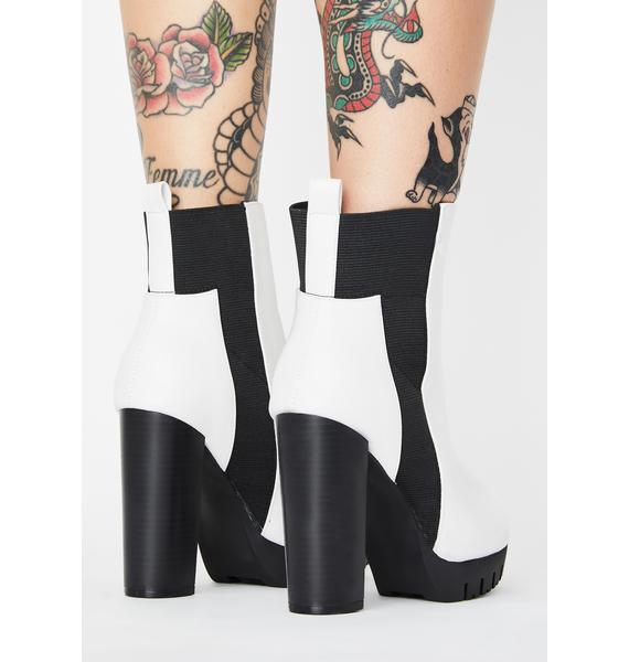 Bone No Surrender Heeled Boots