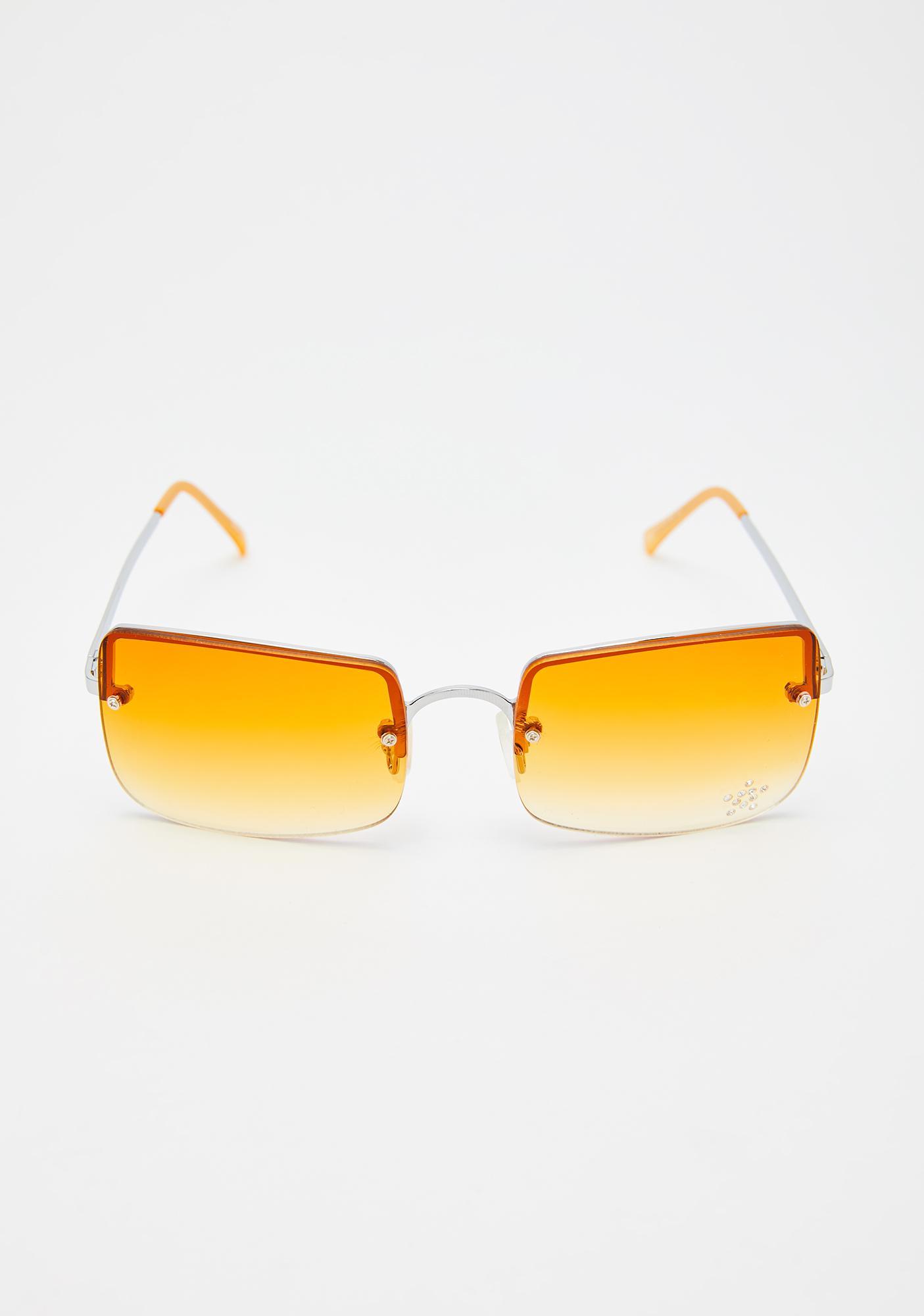 Replay Vintage Sunglasses Sunset Easy Lovin' Square Sunglasses