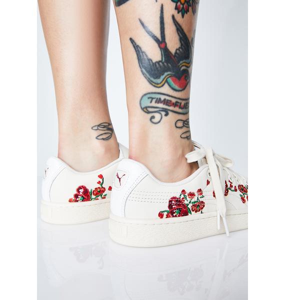 PUMA x S.Tsai Basket Cherry Sneakers
