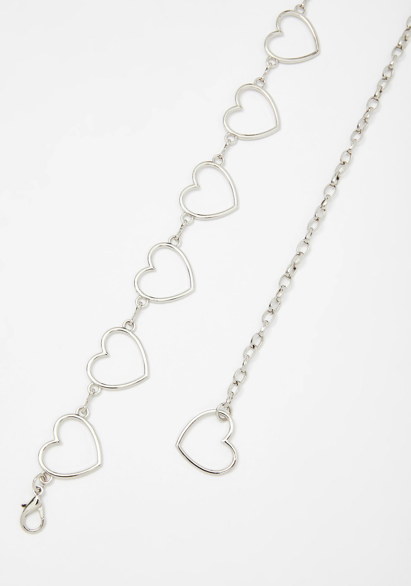 Heartless N' Heauxin' Chain Belt