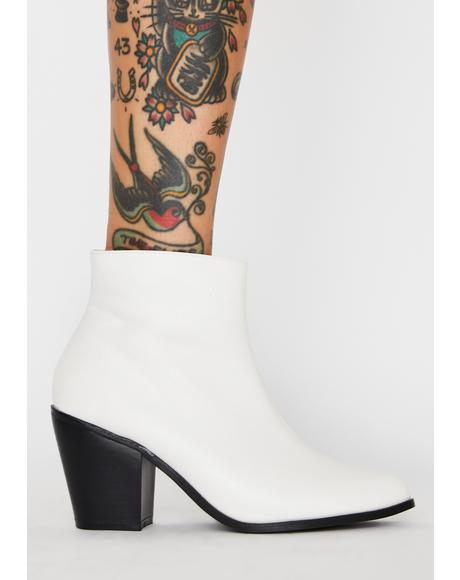 Angelic Hellbent Honey Ankle Boots