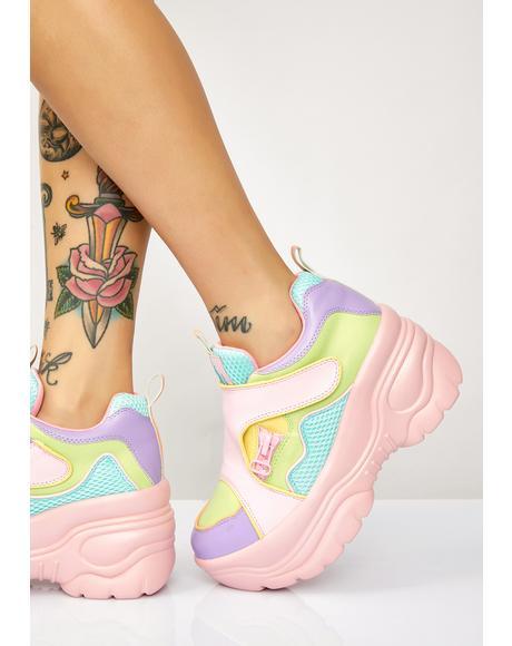 Matrixx 2 Pastel Platform Sneakers