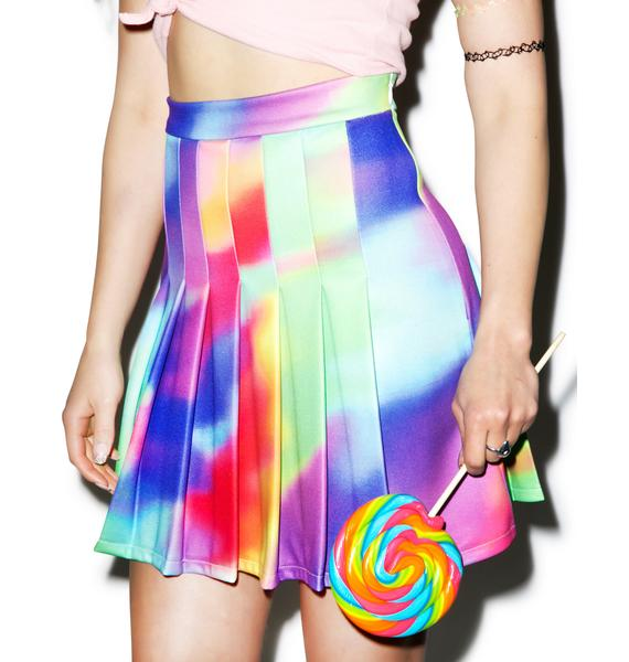 O Mighty Psychedelic Tennis Skirt