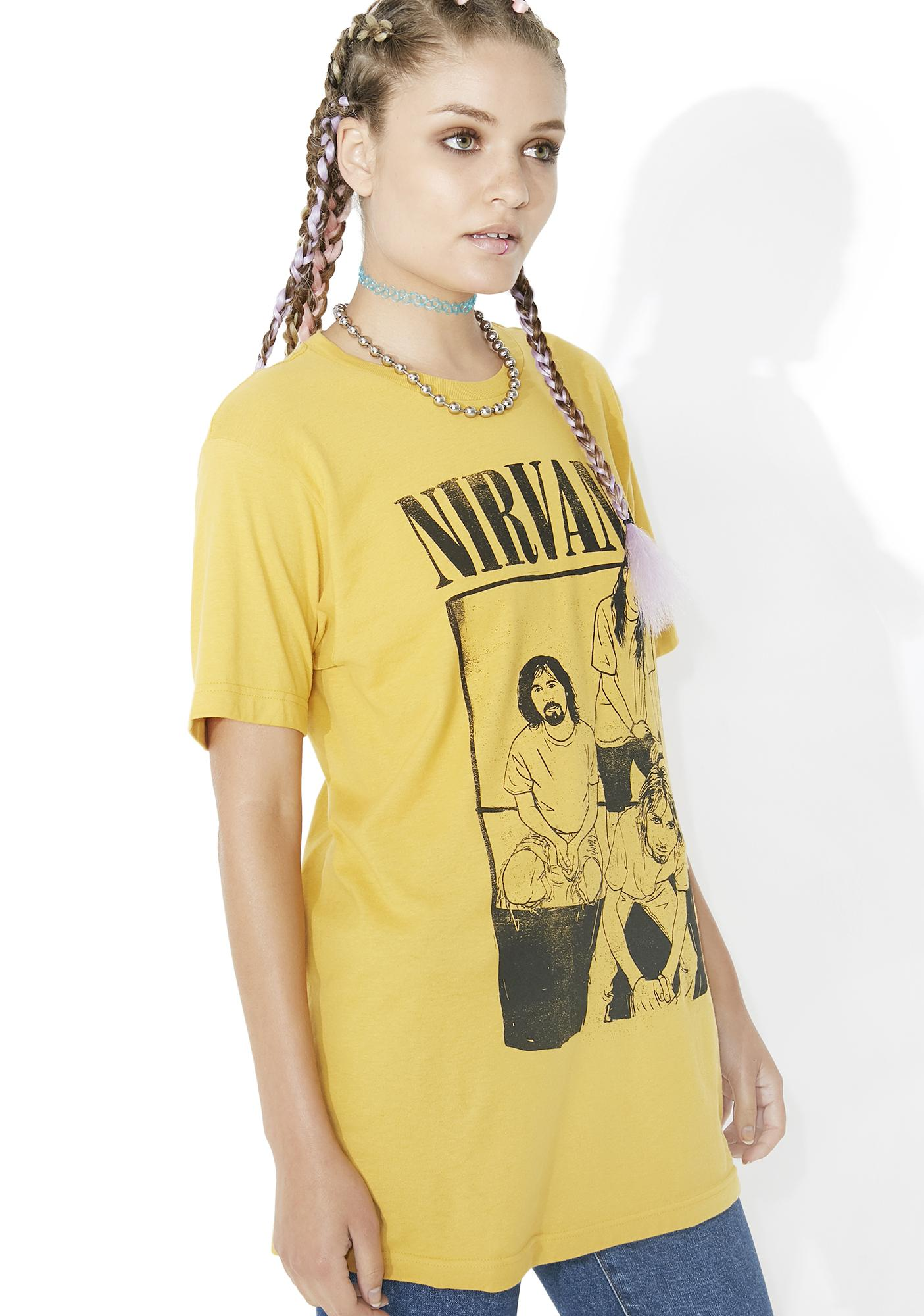 Marigold Melody Band Tee