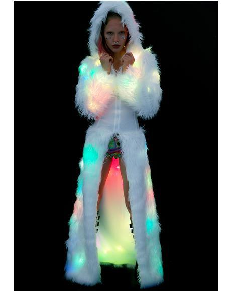 Flashing Lights Cincher Coat